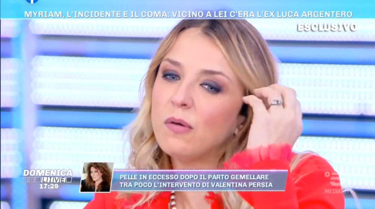Myriam Catania su Luca Argentero