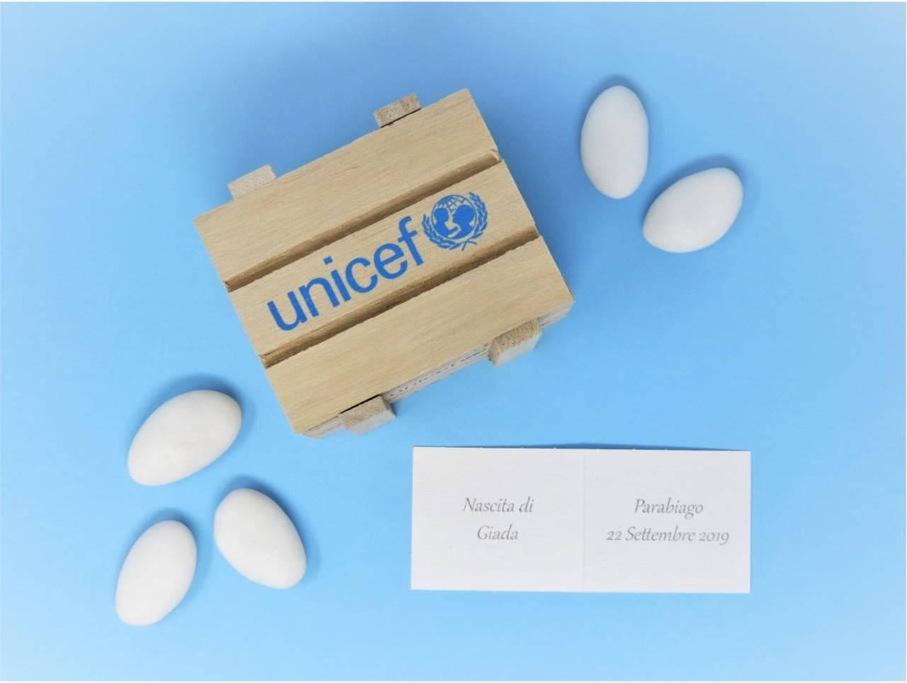 confetti matrimonio Unicef