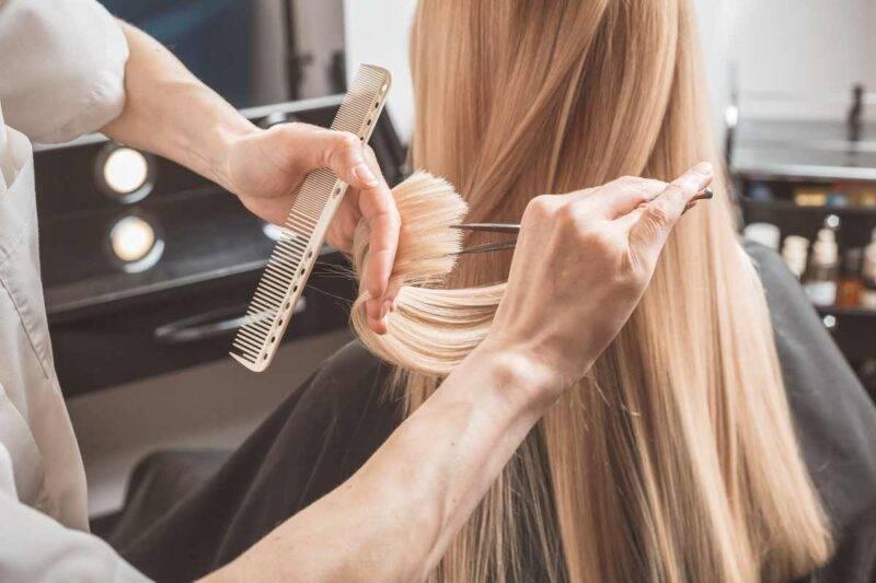 Tagli capelli lisci