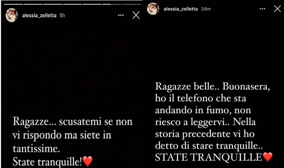 il messaggio della sorella di Andrea Zelletta