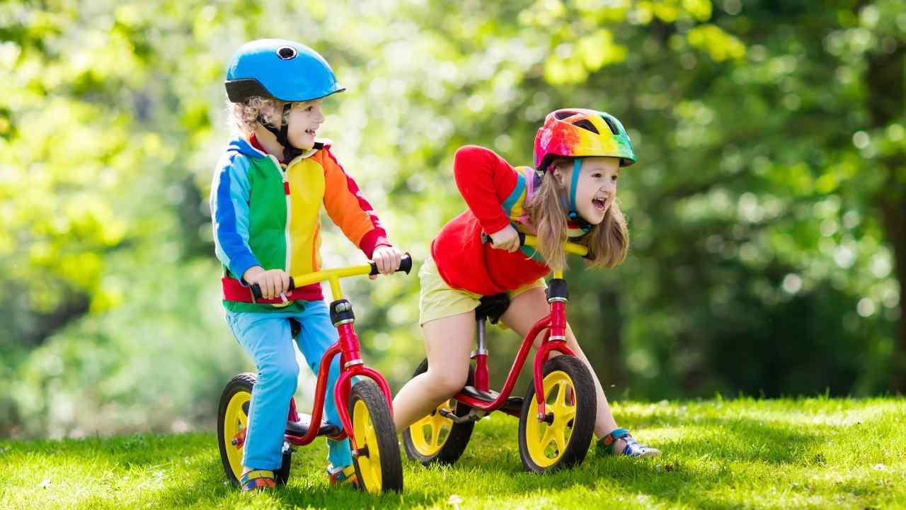 bicicletta senza pedali