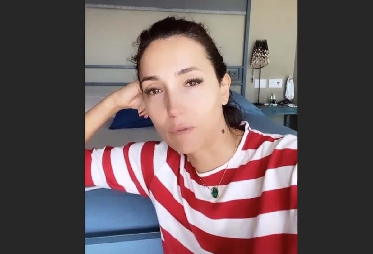 Lutto per Caterina Balivo, struggente annuncio: