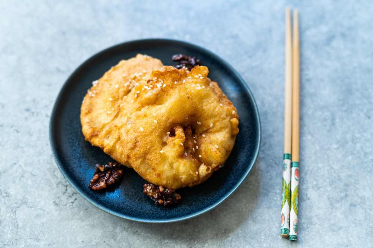 ricetta frittelle ananas cinesi