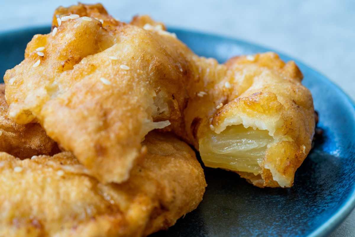 frittelle di ananas cinesi ricetta