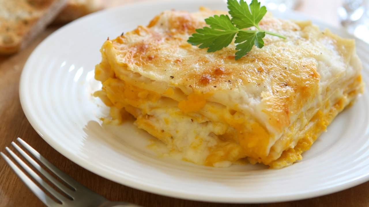 lasagne zucca veloci