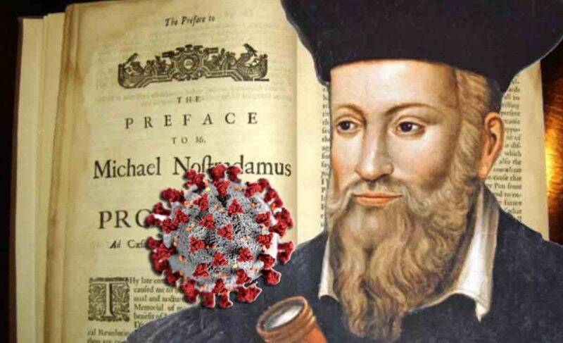 Coronavirus la previsione di Nastadamus