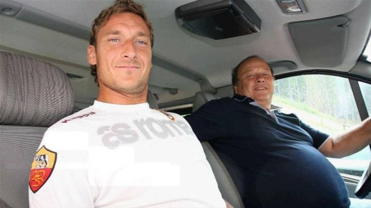 padre francesco totti morto
