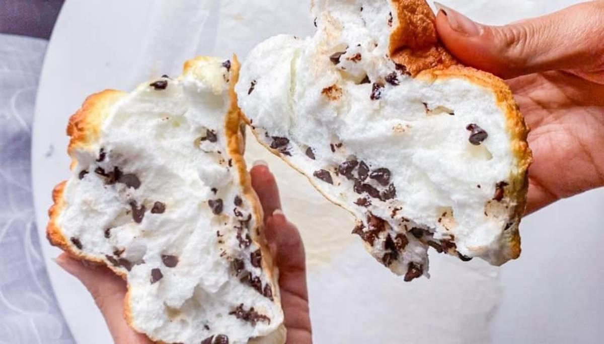 Pane nuvola cremoso: solo 3 ingredienti, 150 calorie!