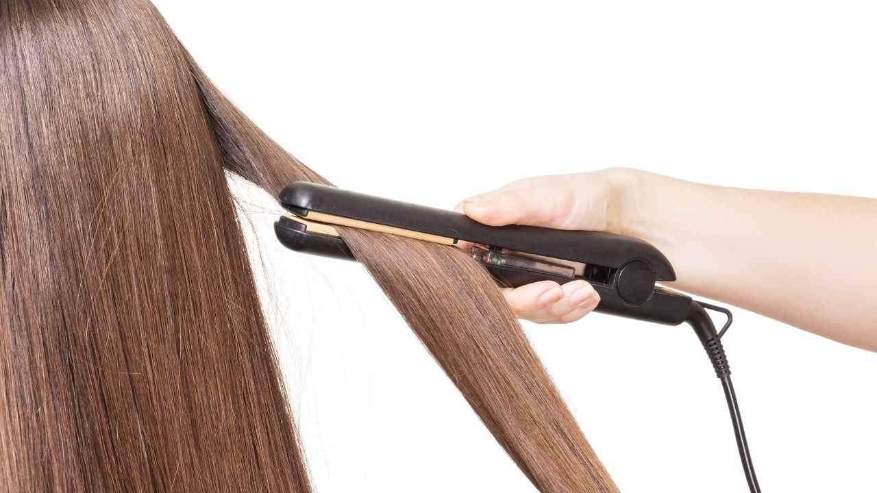 come pulire piastra capelli