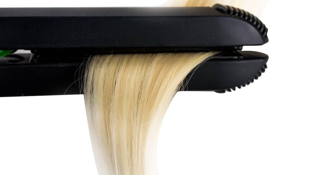 pulire piastra per capelli