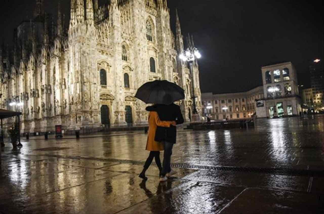 Milano, primi riscontri del lockdown soft (Instagram)