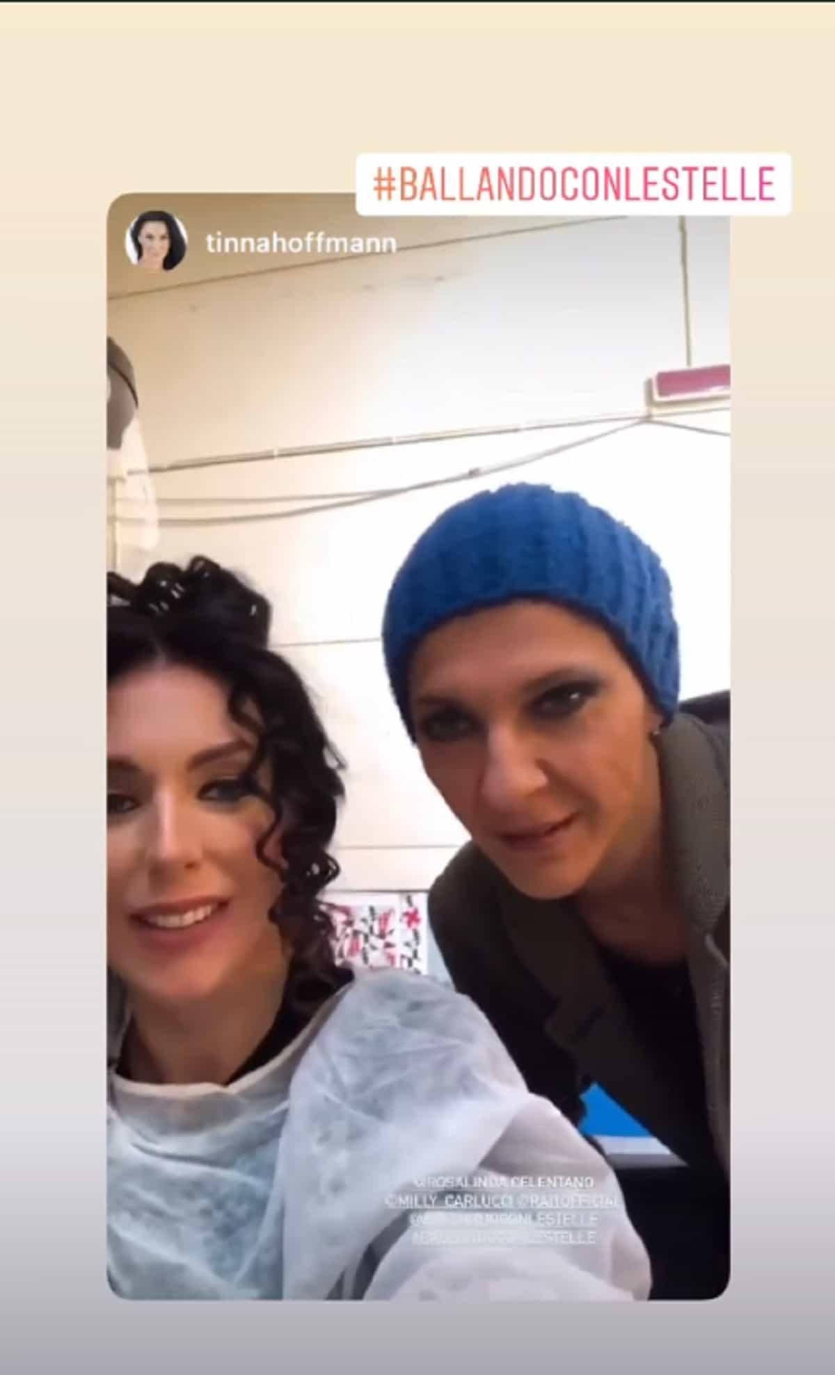 Rosalinda Celentano e Tinna Hoffmann