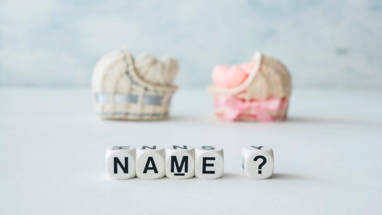 scegliere nome bambino