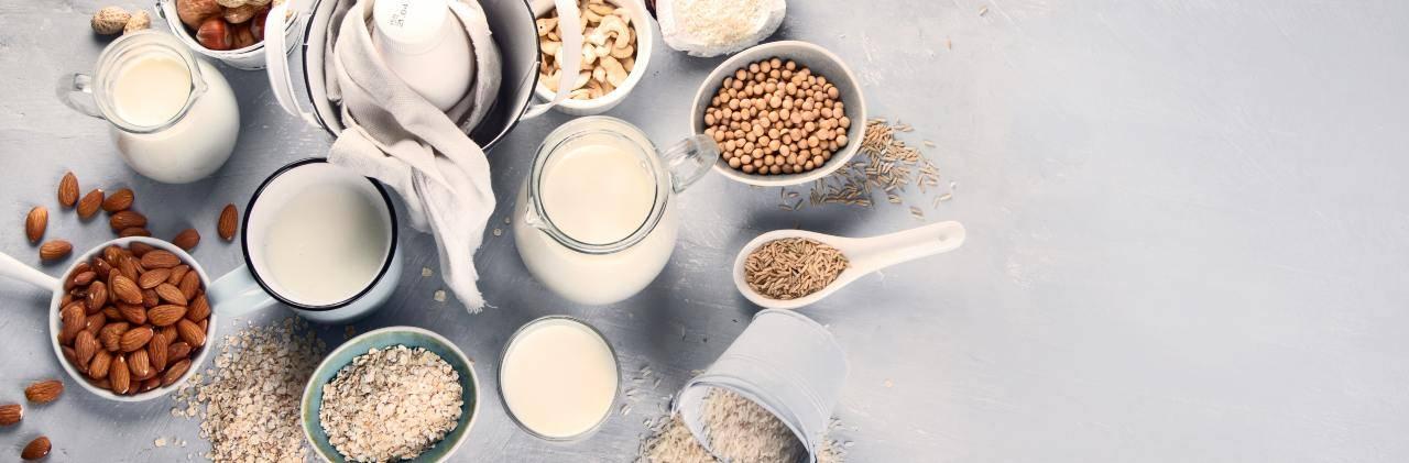 intolleranza lattosio latte vegetale
