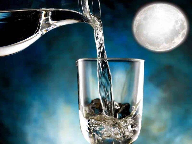 acqua luna piena