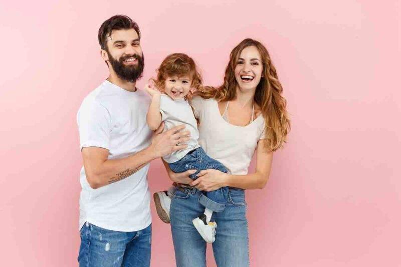 famiglia felice