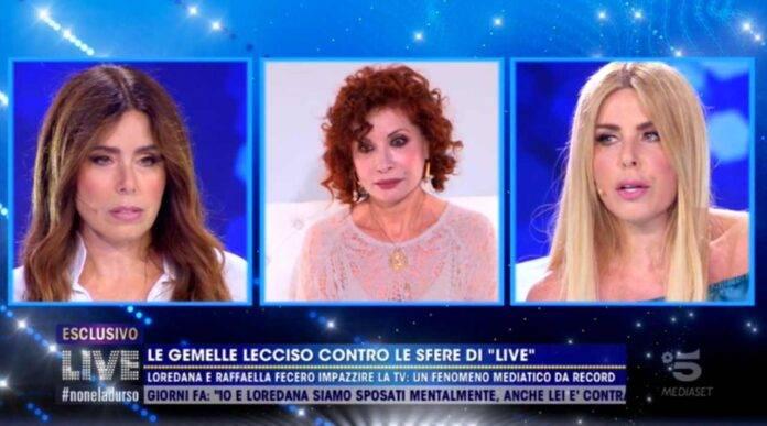 Alda D'Eusanio e Loredana Lecciso a Live Non è la d'Urso