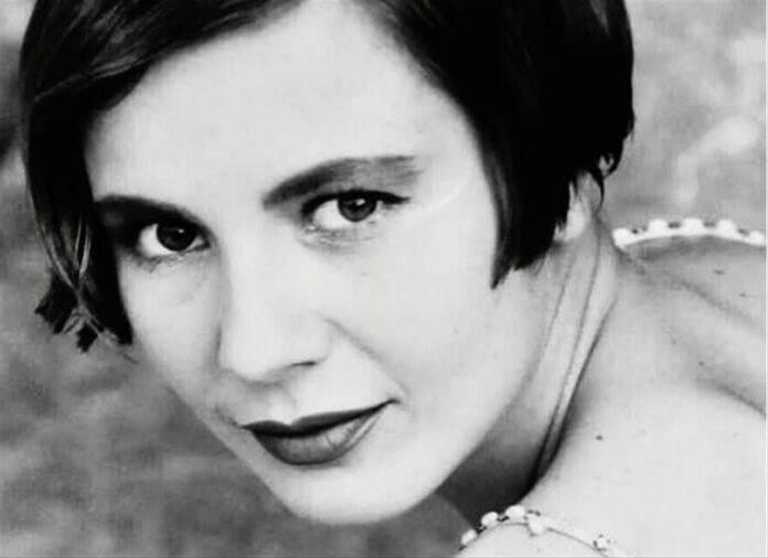 Antonella Elia da giovane