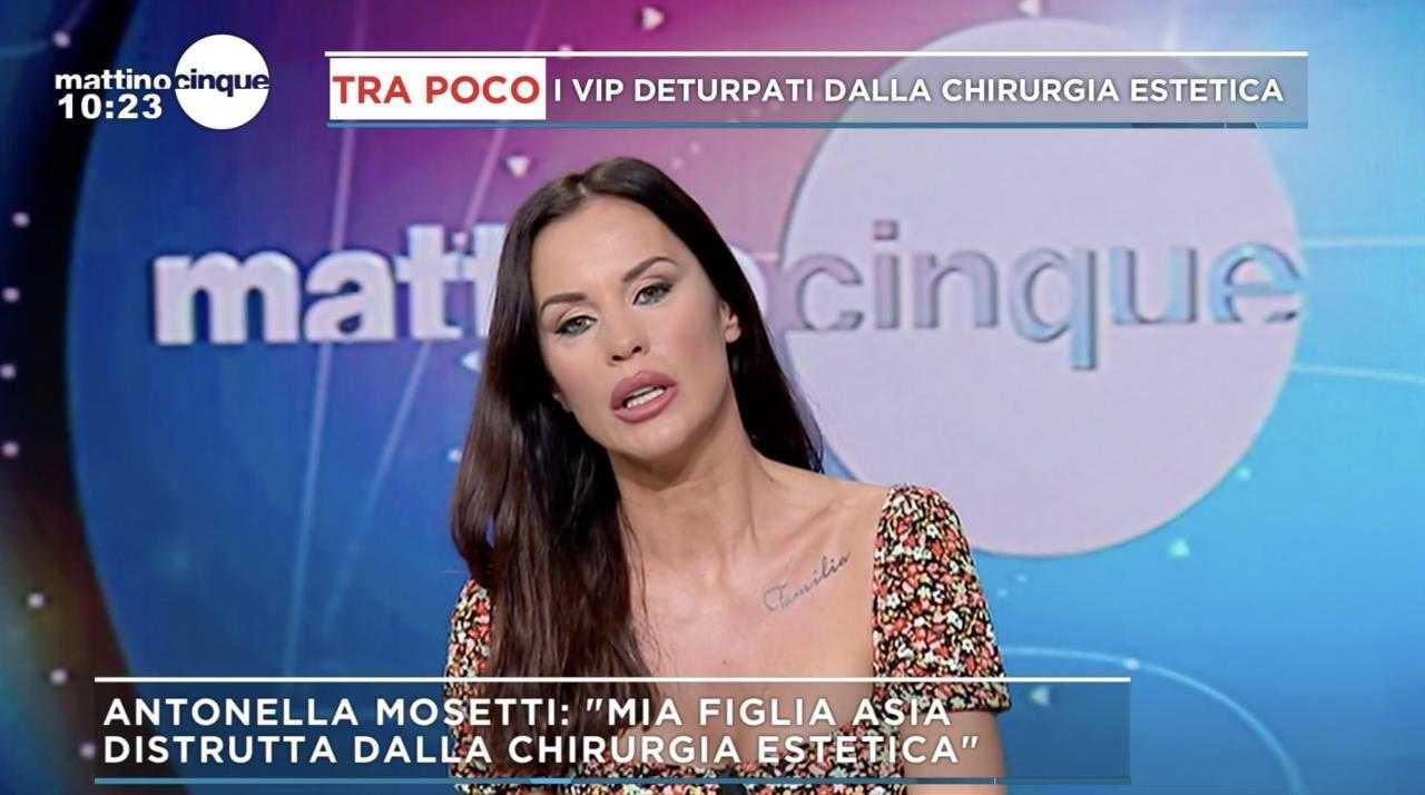 Antonella Mosetti contro il GF Vip