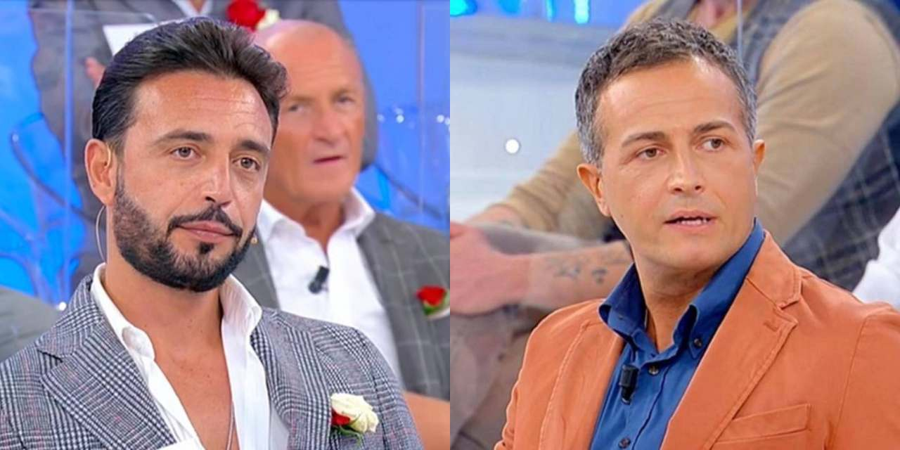 Armando e Riccardo litigano a Uomini e Donne