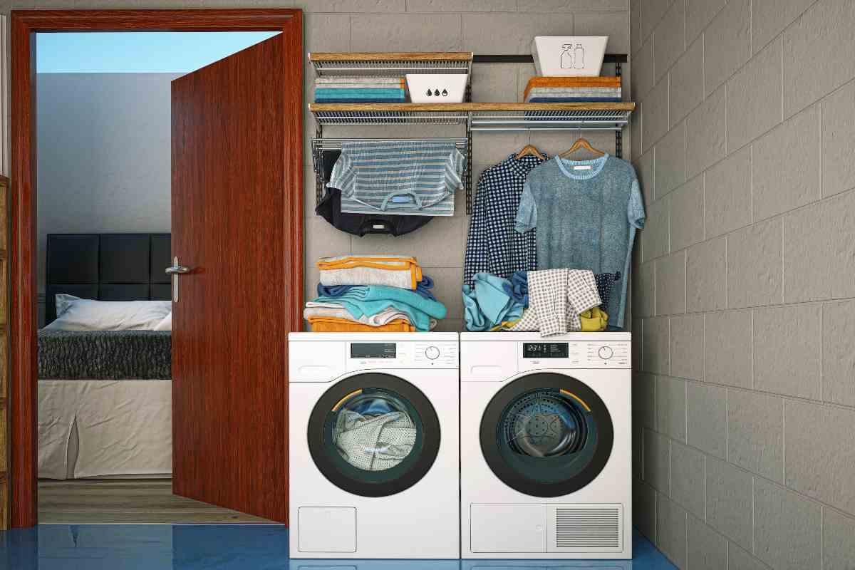 Come riutilizzare l'acqua dell'asciugatrice