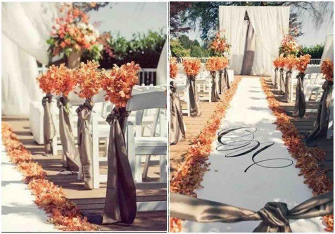 idee matrimonio autunno