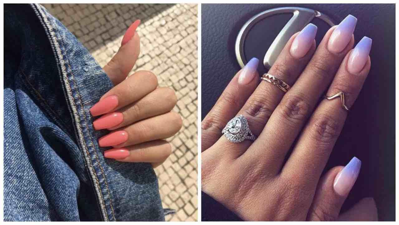 unghie estive a ballerina