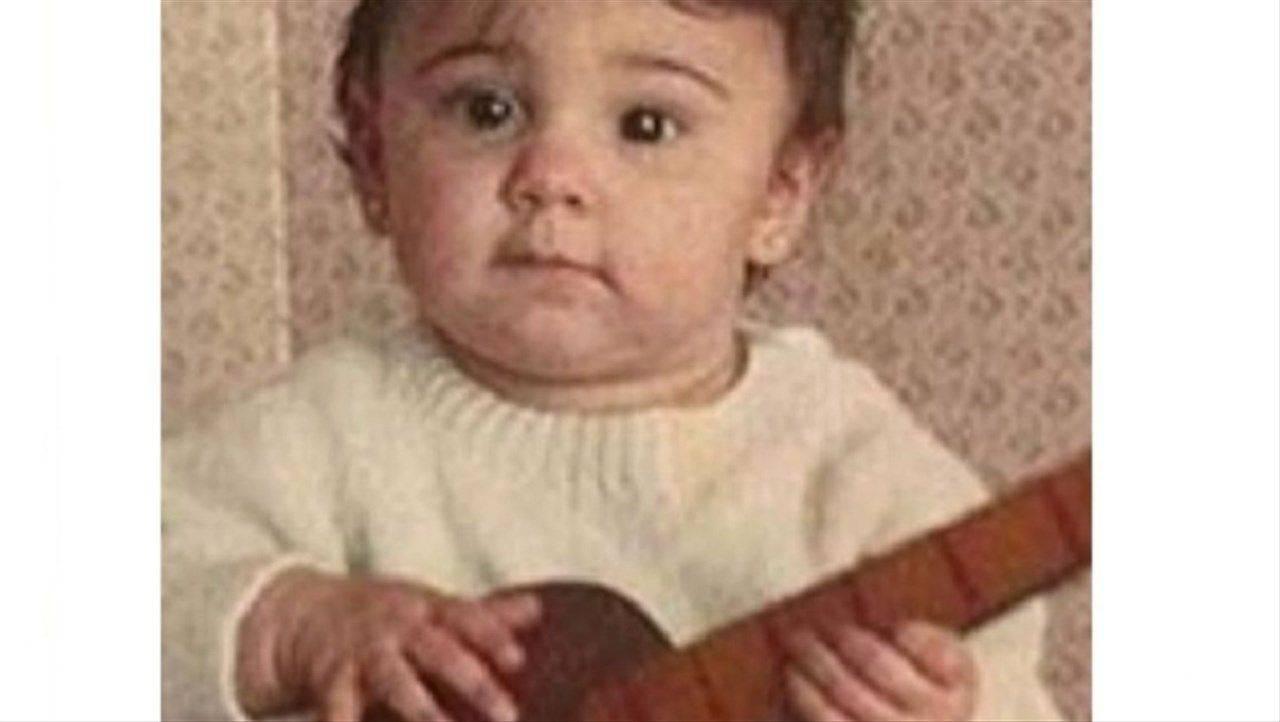 Belen Rodriguez da piccola