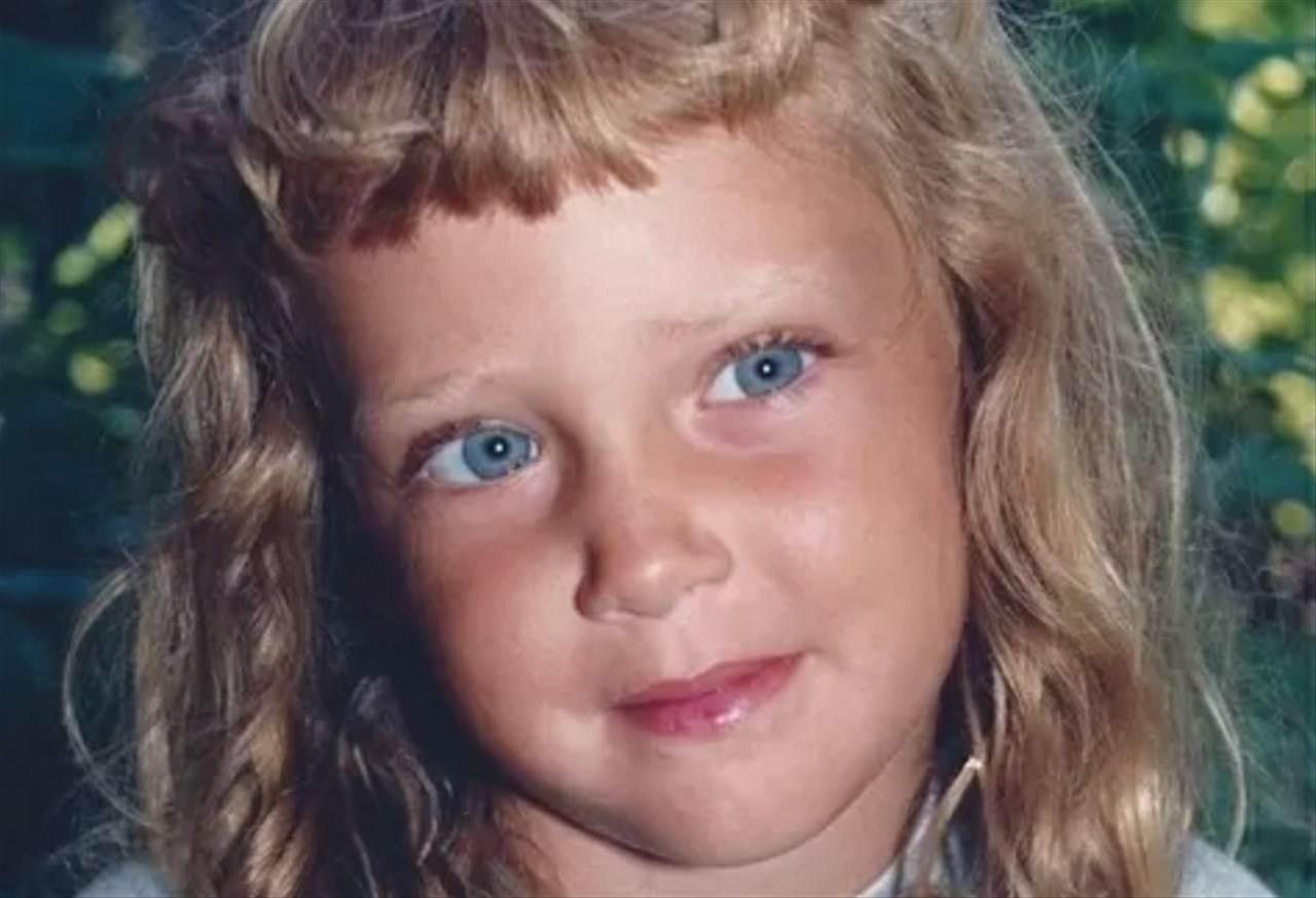 Chiara Ferragni da piccola