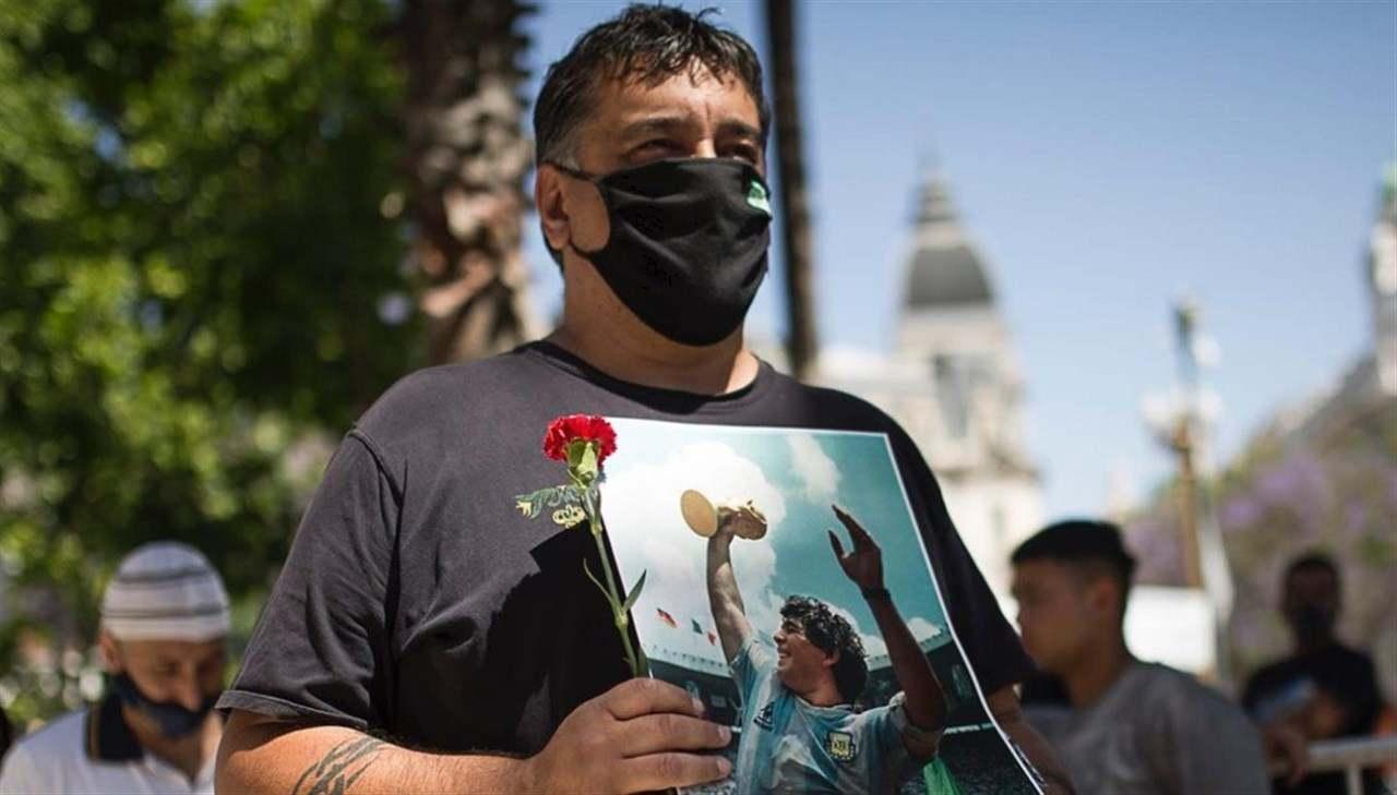 Diego Armando Maradona commemorazione argentina