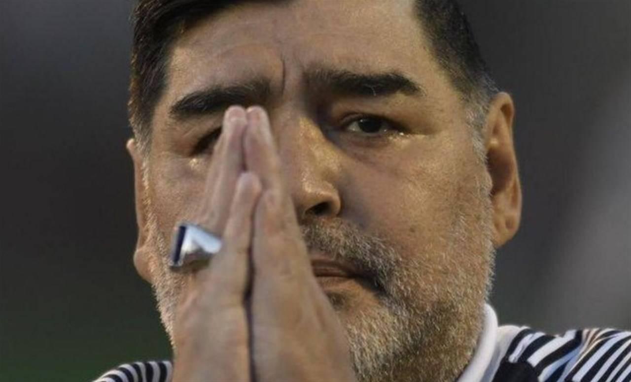 Diego Maradona morto