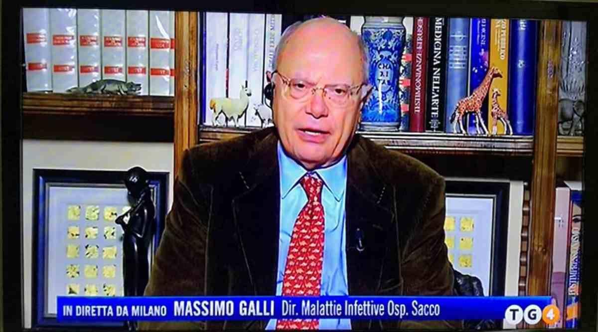 Il professor Massimo Galli la pensa come l' Iss, serve prudenza a Natale