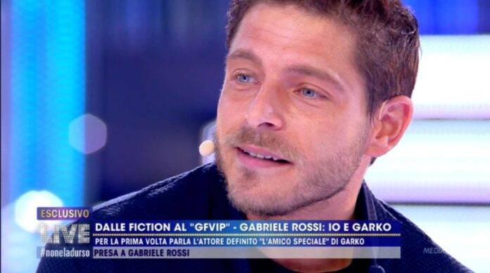 Gabriele Rossi rompe il silenzio su Gabriel Garko