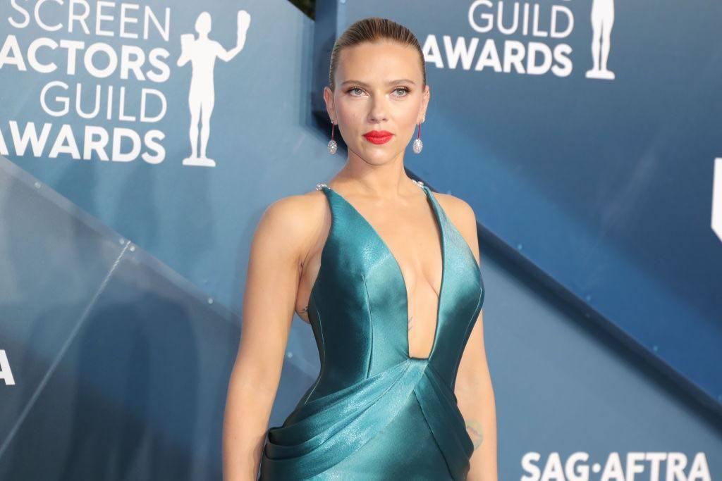 Scarlett Johansson copiare look