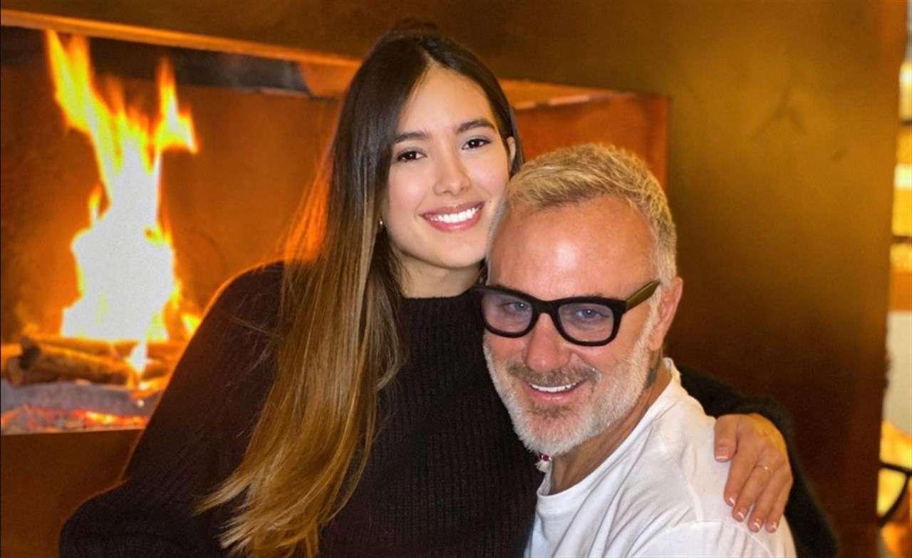Gianluca Vacchi Sharon Fonseca