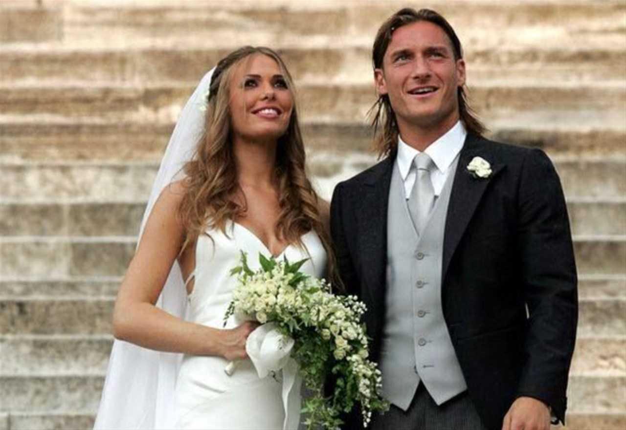 Ilary Blasi sposa