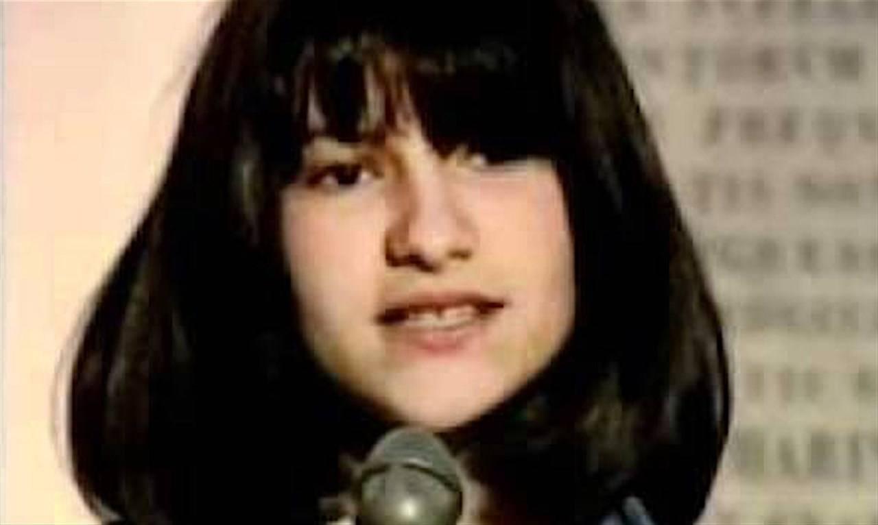 Laura Pausini da bambina