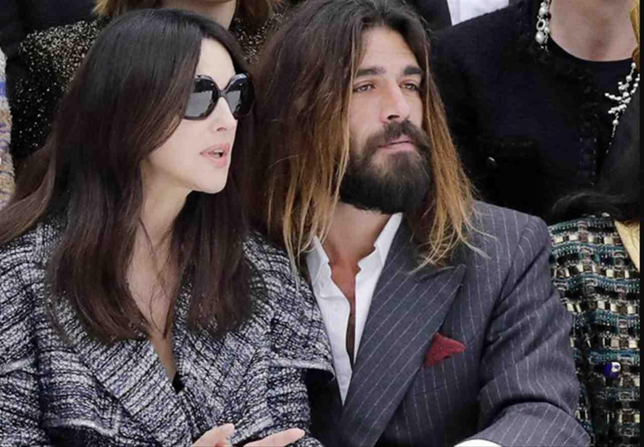 Monica Bellucci con il nuovo fidanzato