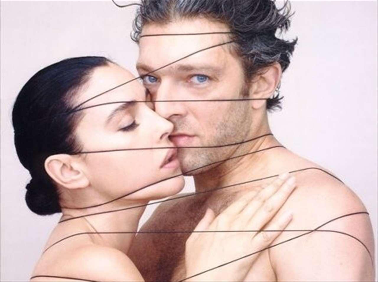 Monicia Bellucci e Vincent Cassel