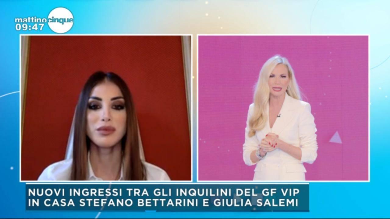 Nicoletta Larini difende Stefano Bettarini