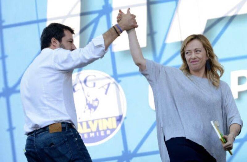 Piano anti-Covid, Meloni e Salvini attacco a Conte (Getty Images)