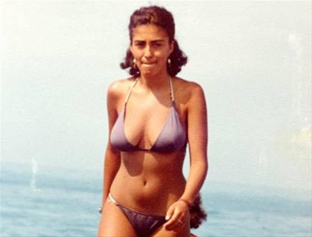 Sabrina Ferilli da Giovane