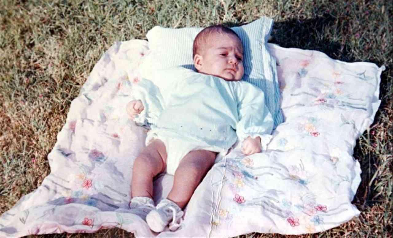 Sabrina Ferilli neonata
