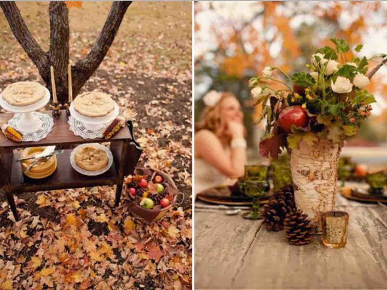 matrimonio autunno idee