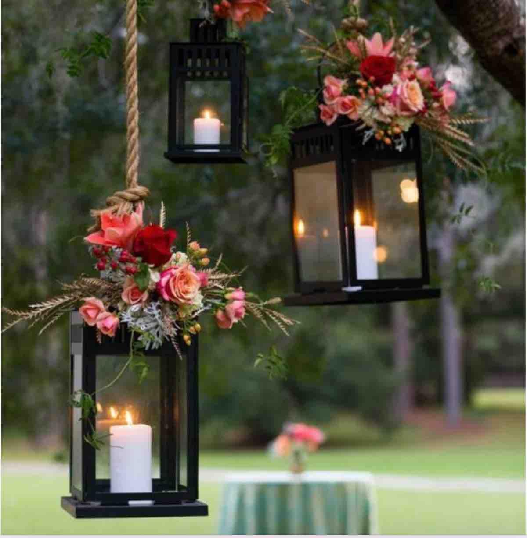 candele matrimonio autunno