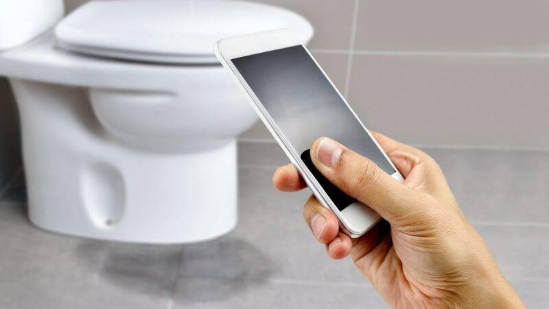 cellulare bagno