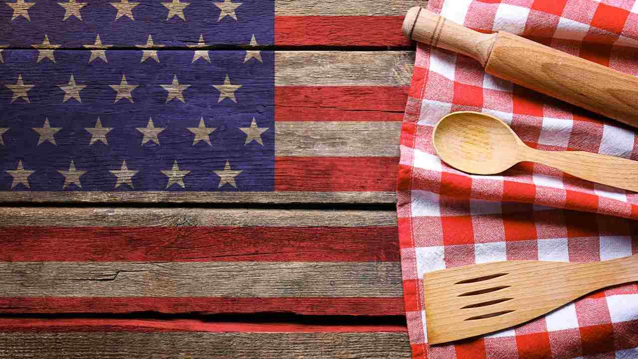 cena stile americano menù completo