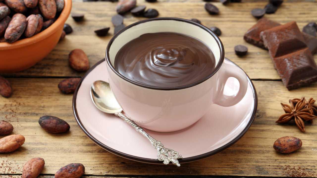 cioccolata calda 5 modi