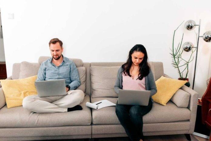 coppia e smart working