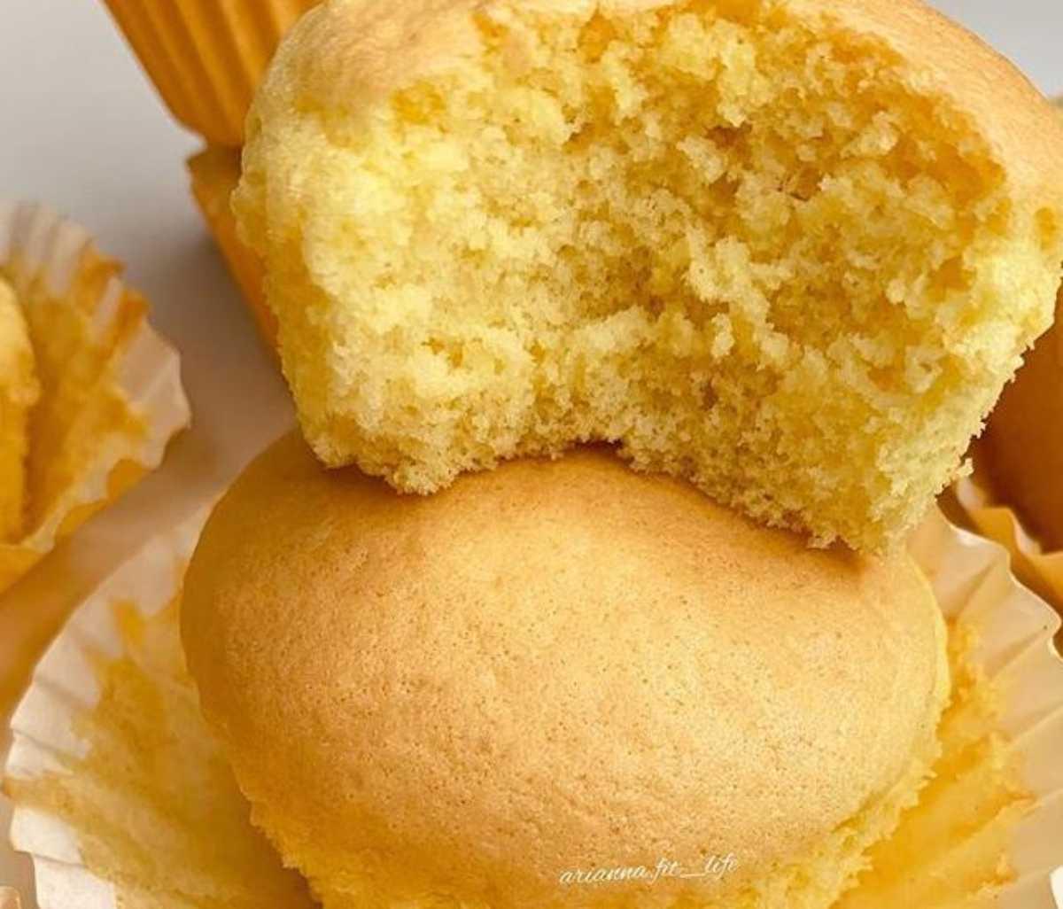 Cotton cupcake: senza zucchero, pochi grassi, pronti in 15 minuti!